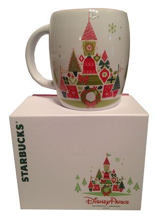 Disney Coffee Cup Mug - Starbucks Christmas Mug