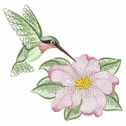 Rippled Hummingbirds 11(Sm) machine embroidery designs