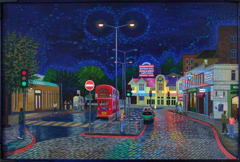 Philip Bartle, Finsbury Park Station on ArtStack #philip-bartle #art