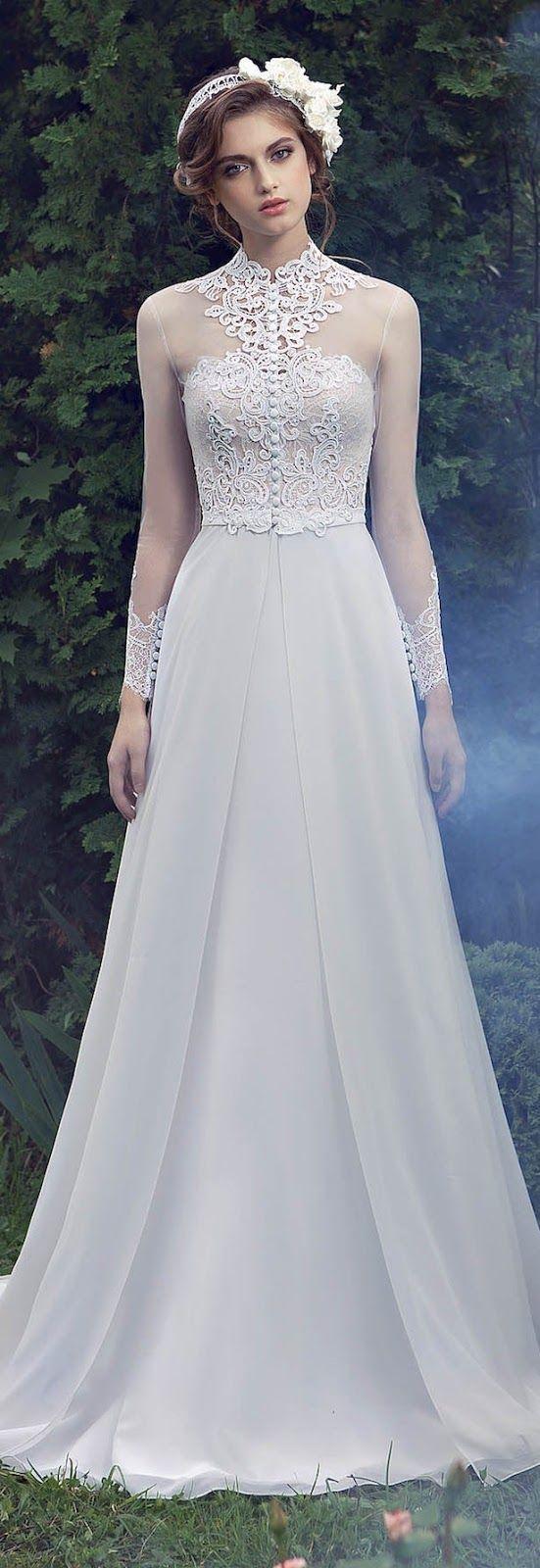 vestidos de novia con manga