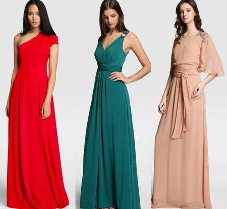 99b9901f8 Los 21 vestidos largos con los que triunfar en las bodas de tarde y ...