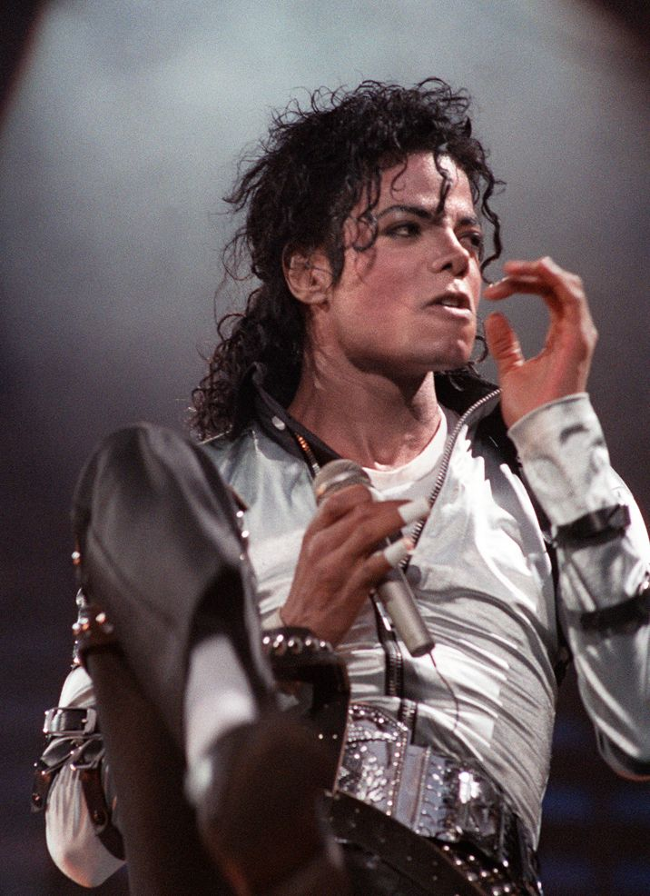 "Michael Jackson from the ""Bad"" era."