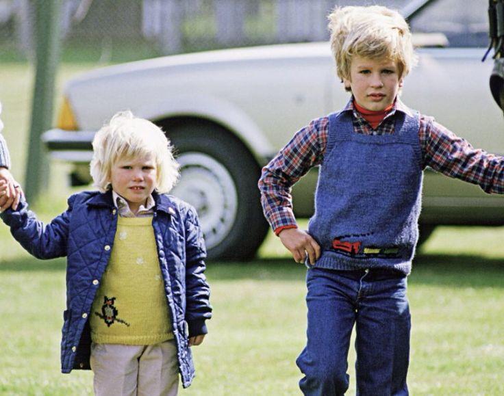 Young Zara and Peter Phillips   Zara phillips, Zara ...