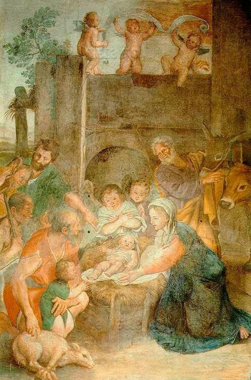 1618. Adorazione dei Pastori. Cappella Nolfi nel Duomo di Fano