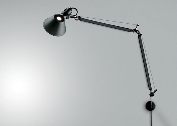 TOLOMEO CLASSIC WALL Designed by Michele De Lucchi and Giancarlo Fassina http://www.artemide.us/Products/Artemide/Wall/Tolomeo_Wall_Classic/Tolomeo_Wall.pdf