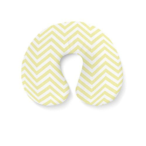 Chevron Stripes Aufblasbare Reisekissen Nackenkissen Great retro chevron pattern…