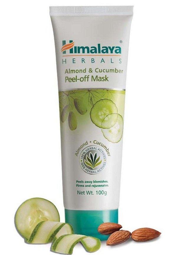 Himalaya herbals Almond and cucumber peel off mask
