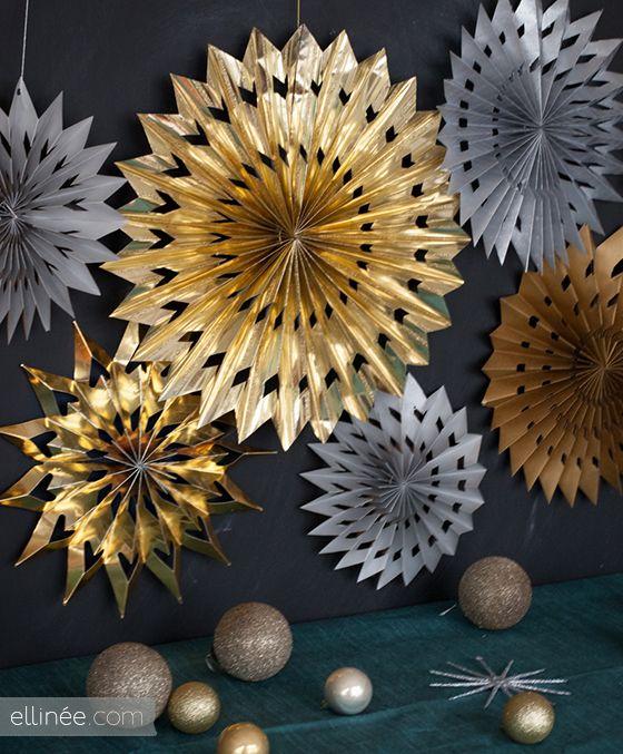 DIY Maxi étoile de papier à mille branches - Le Meilleur du DIY