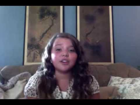 "▶Love this Song!!  Dani and Lizzy ""Dancing in the Sky"" cover by 10 year old Aaliyah Rose - YouTube"