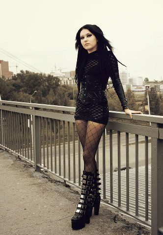 Gothic Fashion goth gothic style fashion girl women https://www.facebook.com/alternativestylepolska                                                                                                                                                      More