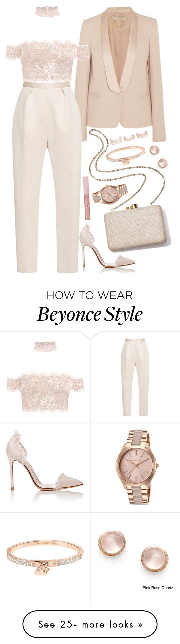 """"""". . ."""" by valeria-angel on Polyvore featuring DKNY, Delpozo, Gianvito Rossi, Kayu, Michael Kors, New Look and Kabella Jewelry"""