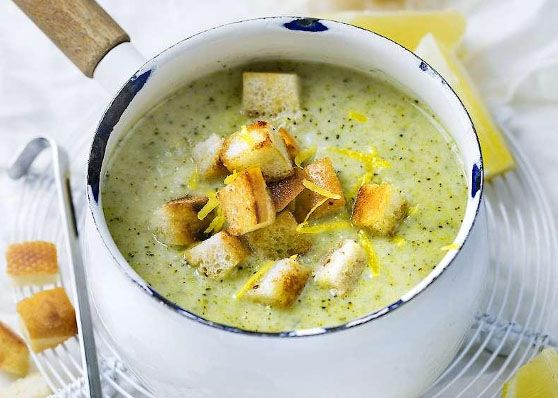 Broccoli- och fänkålssoppa med smak av citron | MåBra - Nyttiga recept