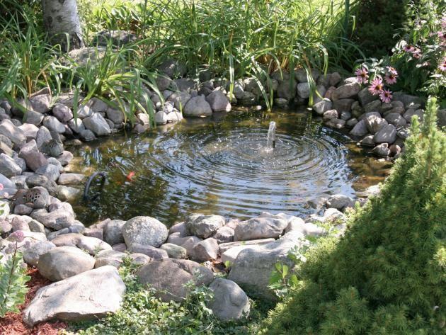 Gestaltungsideen Für Kleine Gärten. Kleiner Gartenteich