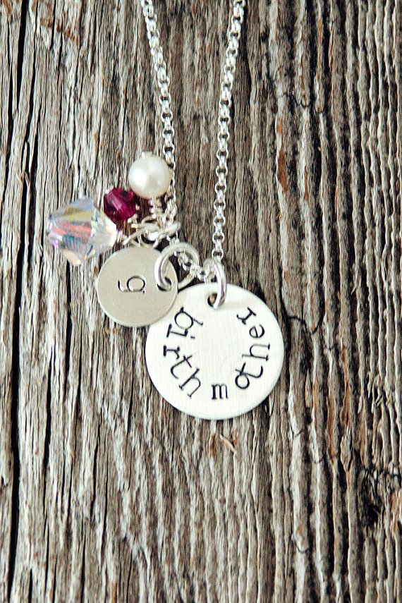 Birth Mother Necklace Birth Mother Gifts by charmedcollections1