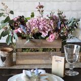 Silver Milk Churn Table Centre - The Wedding of My Dreams
