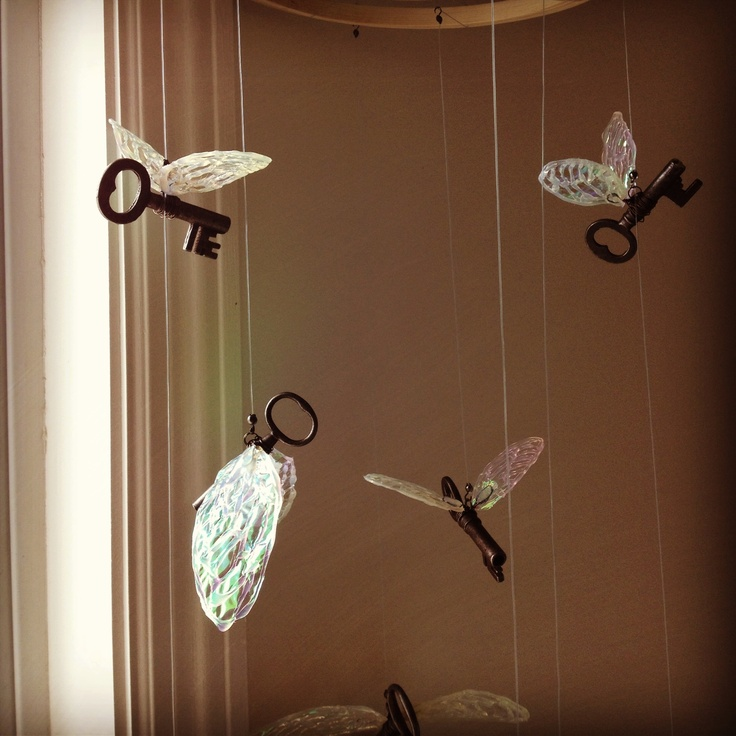 Need To Make One Of These! Harry Potter Flying Key Mobile