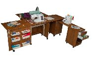 COMFORT 4L sewing machine and overlocker table