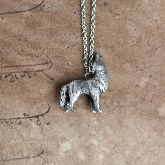 Hey, I found this really awesome Etsy listing at https://www.etsy.com/listing/123707453/howling-wolf-necklace-february-march