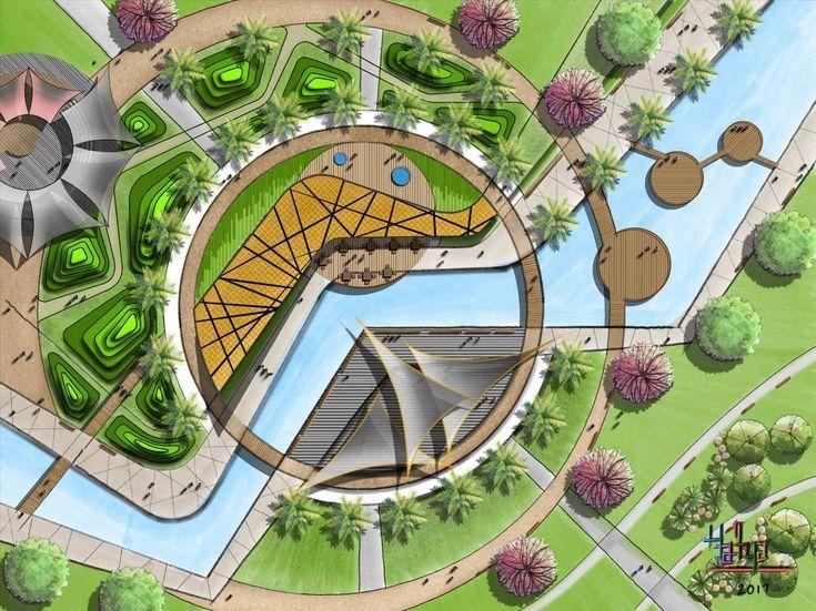 Public Park Design Landscape Architecture City Hall Park Planting Public Gard Landscape Architecture Design Landscape Architecture Park Public Park Design