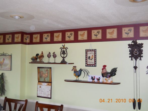 Rooster Kitchen Decorating Ideas | MY Rooster Kitchen, Kitchens Design