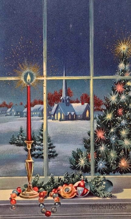 Sweet silent Christmas night.