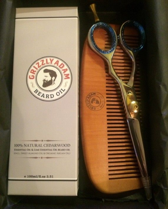 Grizzly Adam Beard Care Kit Over £40 if all purchased separately – Perfect stocking filler for men with beards or mustaches and would be a welcome Christmas gift to any bearded man