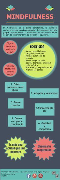 #mindfulness #psicología #infografía Visítanos en http://psicopedia.org
