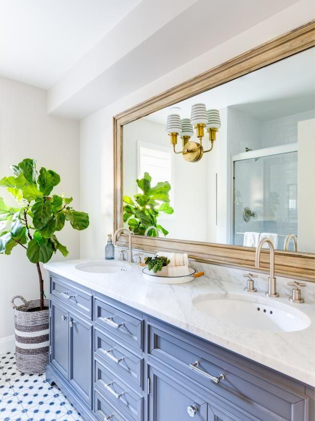 Cobalt Aqua Navy There Are So Many Different Blues To Love But There S One That Crosses I Traditional Bathroom Traditional Bathroom Vanity Bathroom Interior
