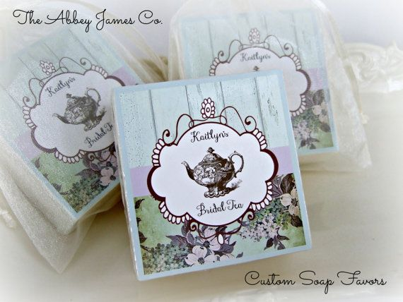 tea party favors bridal shower favors baby shower favors shabby chic favors
