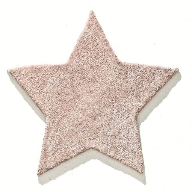 This child's Zilius star-shaped cotton tufted rug is both pretty and fun!Features of rug:100% tufted cotton. 4000 g/m².See other children's rugs and the rest of the rug collection online.. Size of Zilius child's rug:Diameter 85cmCare instructions:Cotton rugs pill naturally during the first few months. This is not a manufacturing fault. This phenomenon will usually disappear after vacuuming once or twice (always vacuum in the direction of the pile, never in the opposite direct...