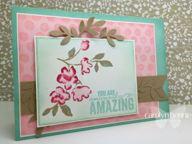 Painted petals Occasions Catalogue 2015 carolynbennie.com