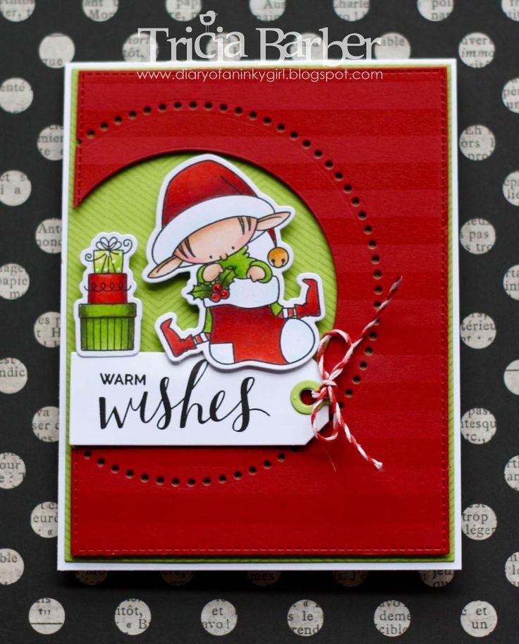 Diary of an Inky Girl…: Santa's Elves - My Favorite Things Sketch Challenge