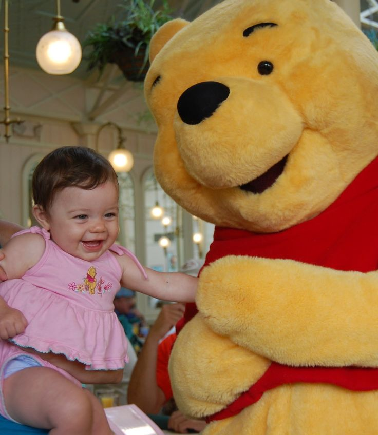 Disney in Diapers- Traveling to Disney with a baby -- some great tips and advice here!
