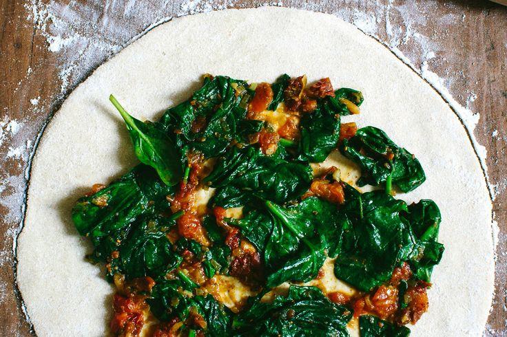 Spinat Quinoa Taschen | KRAUTKOPF