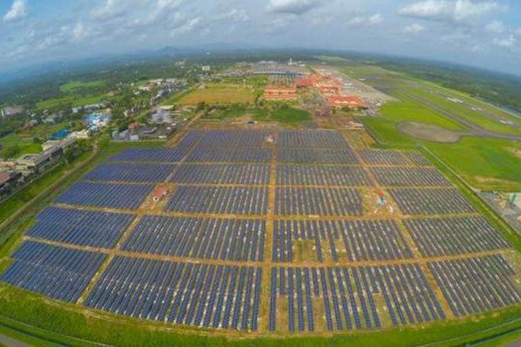 Cochin International Airport To Be India's First Fully Solar Powered Airport