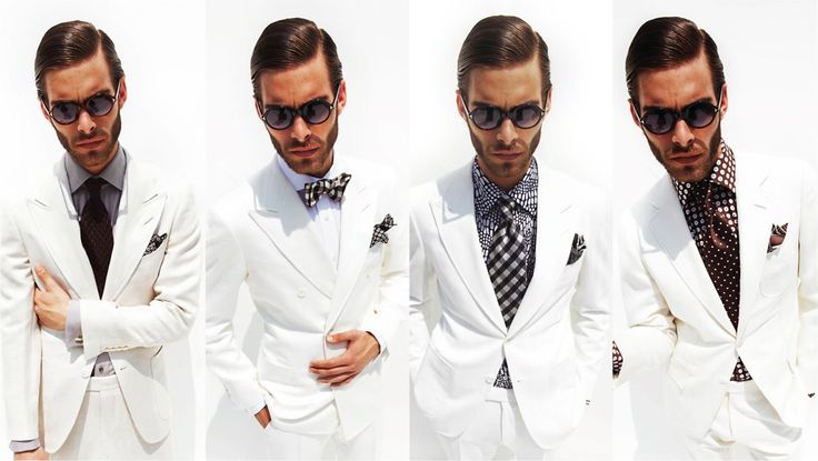In my humble opinion Tom Ford may make the best Tux there is. This all-white ensemble is classy for any formal setting given this time of the year. The way the suit falls and the premium cut is top-notch.