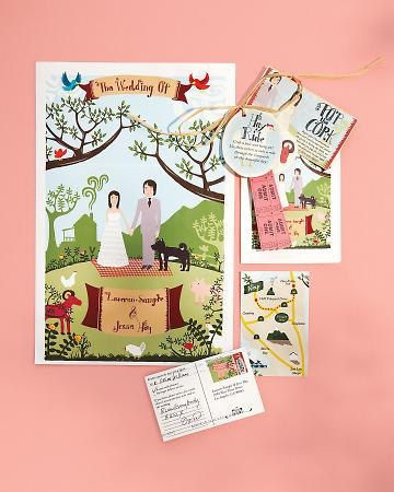 Is this another wedding packet? If so, I like the ideas involved. Activities packet?