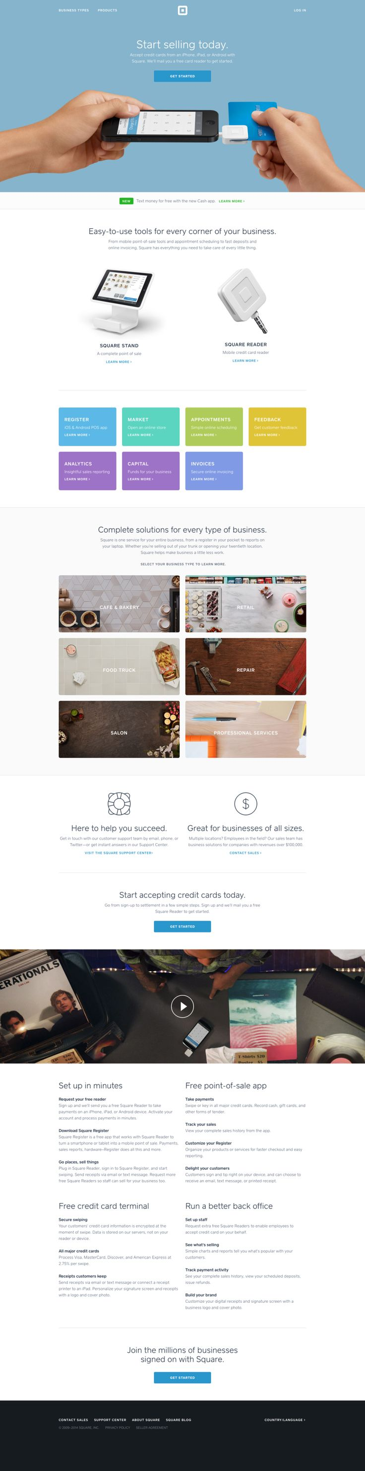 new squareup website