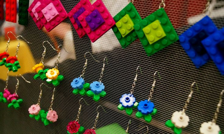 GeekGirlCon - lego jewelry