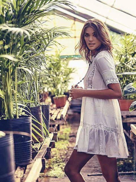 Moda primavera verano 2018: Vestidos primavera verano 2018 Sail. Moda urbana y femenina para mujer 2018. #moda #vestidos2018 #outfit #look #estilo