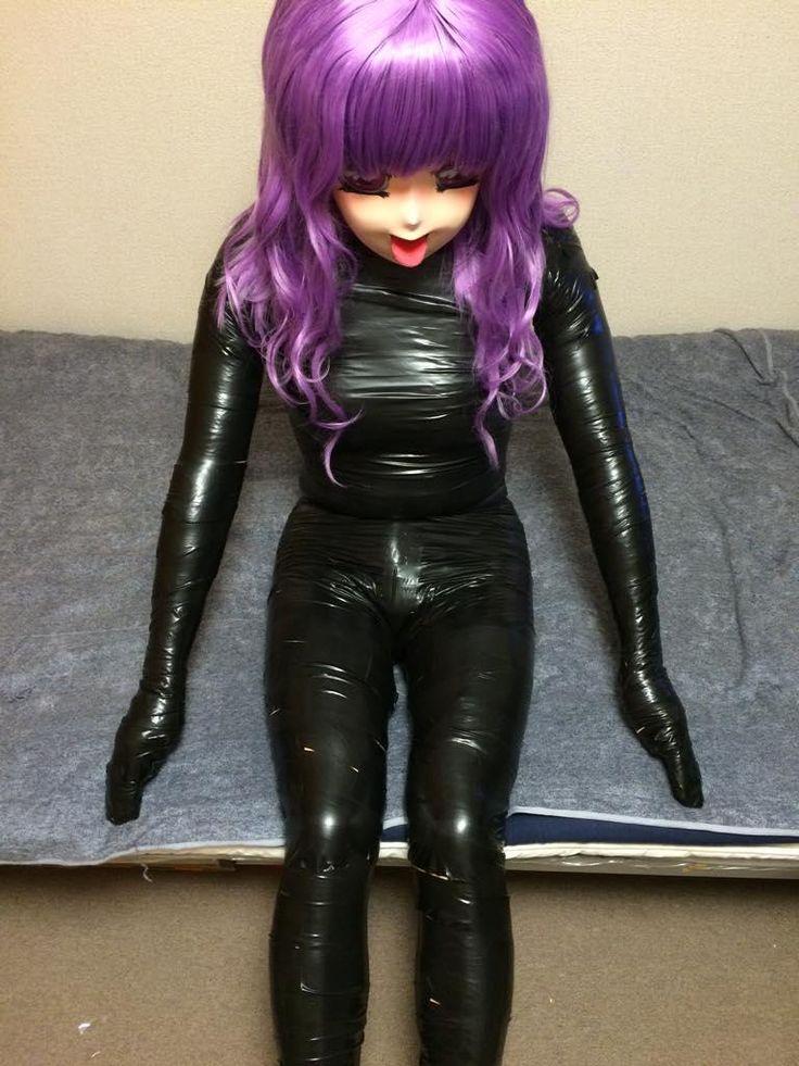 Latex Bondage Doll 105