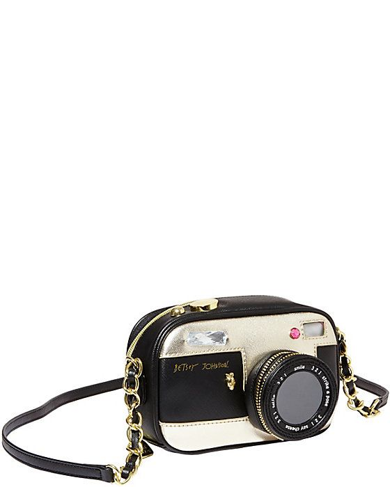 Betsey Johnson KITCHI CAMERA CROSSBODY $78