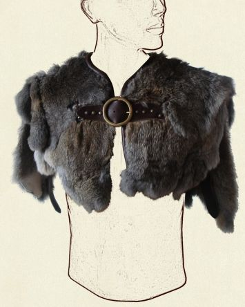 Yeah.. this is pretty hot.  I wonder if I could ever find a faux fur substitute (or if it would be possible to paint/dye/etc a faux fur...?)