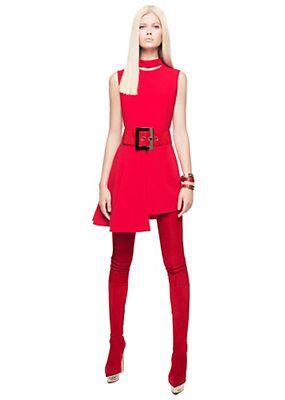 Versace - Asymmetric short dress