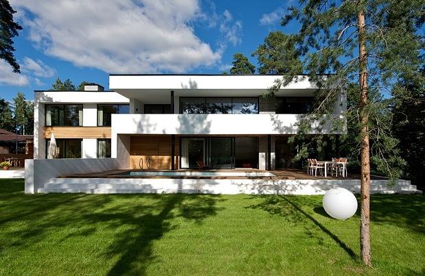 Fasade i betong