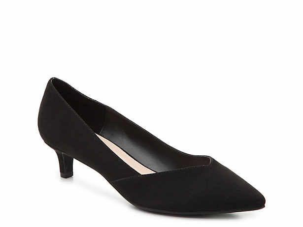 Women S Low Heel 1 2 Mid Heel 2 3 Dress Pumps Sandals Size 6 5 Dsw Black Heels Low Pumps Kitten Heels