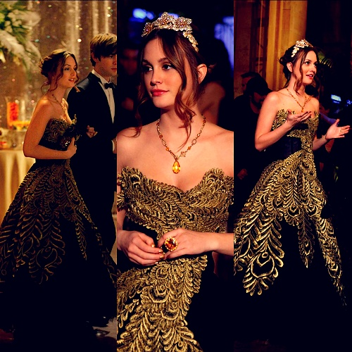 blair waldorf formal dress - photo #6