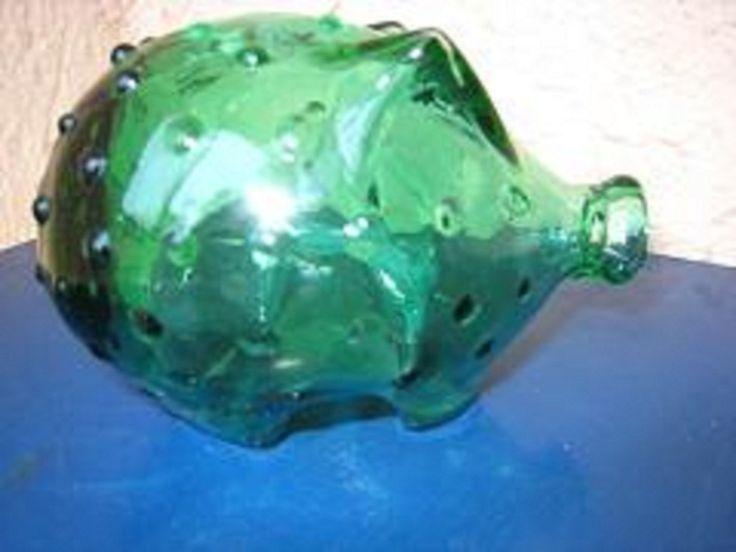 Holmgaard Glass Piggy Bank by Arne Bang