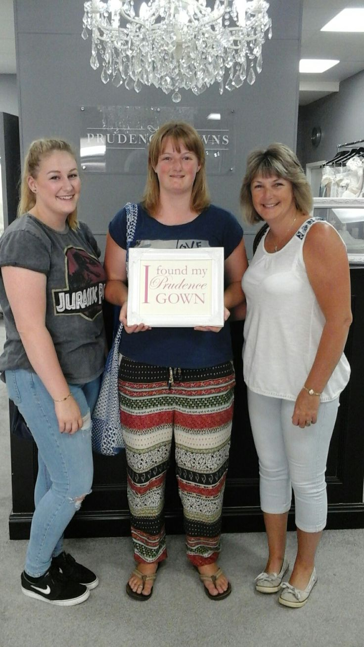 Our new #bride Abbie found her #weddingdress in our #Exeter store today. YAY! #DressingYourDreams #PrudenceGowns