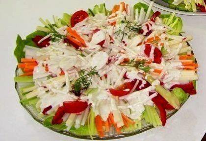 Séf saláta | NOSALTY – receptek képekkel